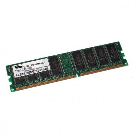 Ram Barrette Memoire PROMOS 512Mo DDR1 PC-3200U 400Mhz V826664K24SCIW-D3 CL3