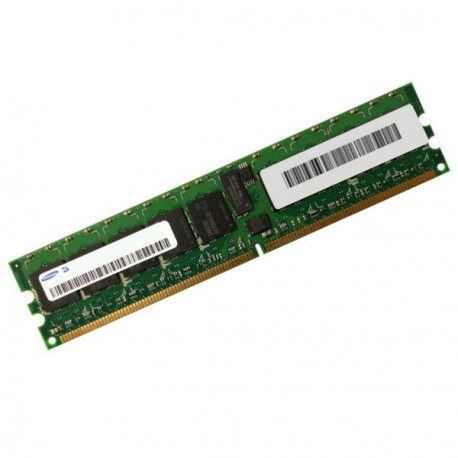 Ram Serveur Samsung 512Mo DDR2 PC2-3200R Registered ECC 400Mhz M393T6450FZ0-CCC