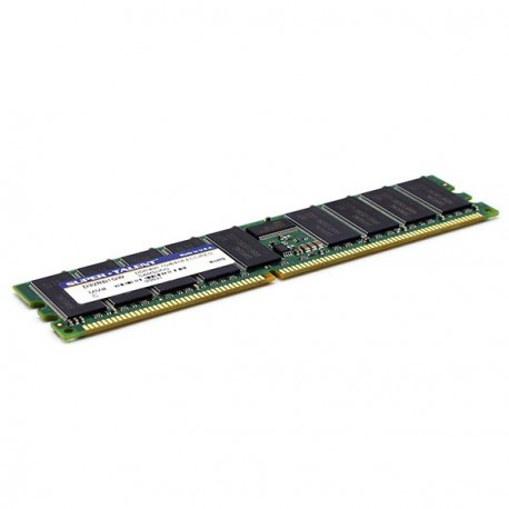 Ram Serveur SUPER TALENT 1Go DDR1 PC-3200R Registered ECC 400Mhz D32RB1GW