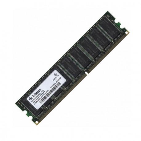 Ram Serveur INFINEON 512Mo DDR PC-3200E ECC 400Mhz HYS72D64320HU-5-C CL3