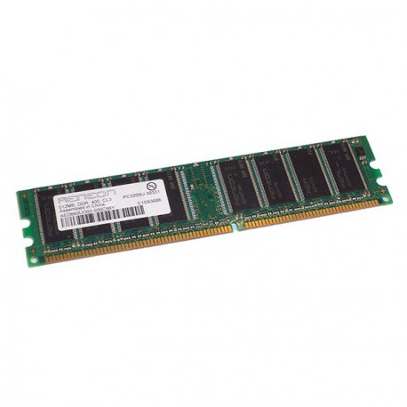 Ram Barrette Memoire AENEON 512Mo DDR1 PC-3200U 400Mhz AED660UD00-500C98Y CL3