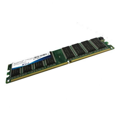 Ram Barrette Memoire ADATA 1Go DDR1 PC-3200U 400Mhz AD1400001GMU CL3