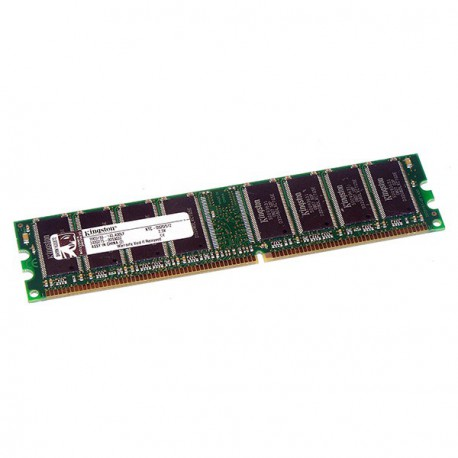 Ram Barrette Memoire KINGSTON 512Mo DDR1 PC-2100U 266Mhz KTC-D320/512