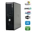 PC DELL Optiplex 740 SFF AMD Athlon 64 2.7GHz 2Go DDR2 80Go WIFI DVD Win XP Pro