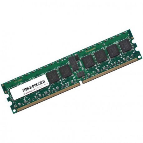 RAM Serveur Transcend 512Mo DDR2 PC2-3200R Registered ECC 400Mhz TS64MQR72V4J