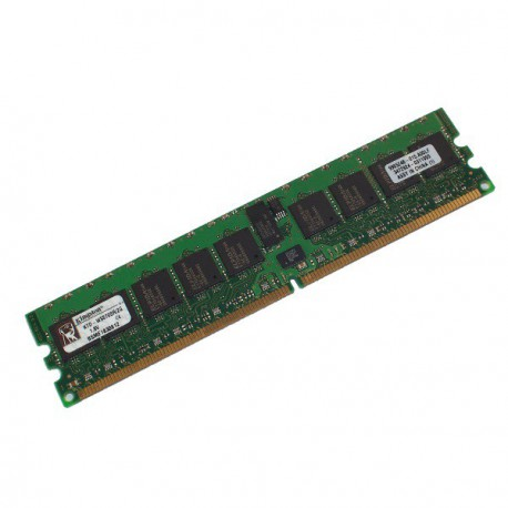 Ram Serveur KINGSTON 1Go DDR2 PC2-3200R Registered ECC 400Mhz KTD-WS670 CL3