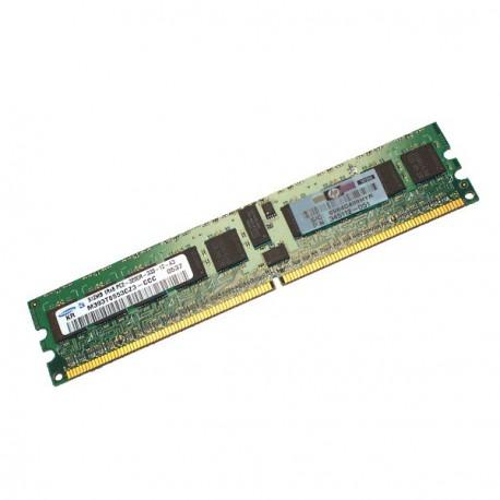 Ram Serveur SAMSUNG 512Mo DDR2 PC2-3200R Registered ECC 400Mhz M393T6553BG0-CCC