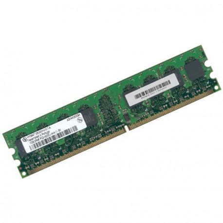 Ram Barrette Mémoire INFINEON 1Go DDR2 PC2-4200U 533Mhz HYS64T128020HU-3.7-A CL4