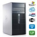 PC HP COMPAQ DC5700 MT Pentium D E2160 1.8Ghz 2Go DDR2 500Go WIFI Win XP Pro
