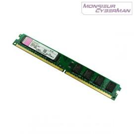 Ram Barrette Mémoire Kingston KTD-DM8400/512 512Mo DDR2 PC2-3200 CL3 Low Profile