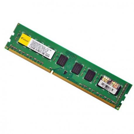 Ram Barrette Mémoire ELIXIR 2Go DDR3 PC3-10600U 1333Mhz M2Y2G64CB8HC5N-CG CL9
