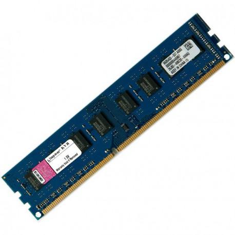 Ram Barrette Mémoire KINGSTON 2Go DDR3 PC3-10600U 1333Mhz K1N7HK-ELC CL9 1Rx8