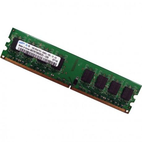 Ram Barrette Mémoire SAMSUNG 1Go DDR2 PC2-5300U 667Mhz M378T2953EZ3-CE6 CL5