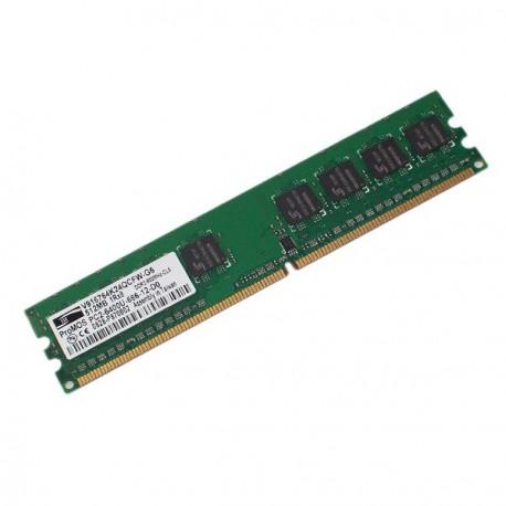 Ram Barrette Mémoire PROMOS 512Mo DDR2 PC2-6400U 800Mhz V916764K24QCFW-G6 CL6