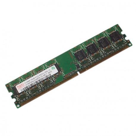 Ram Barrette Mémoire HYNIX 512Mo DDR2 PC2-5300U 667Mhz HYMP564U64BP8-Y5 CL5