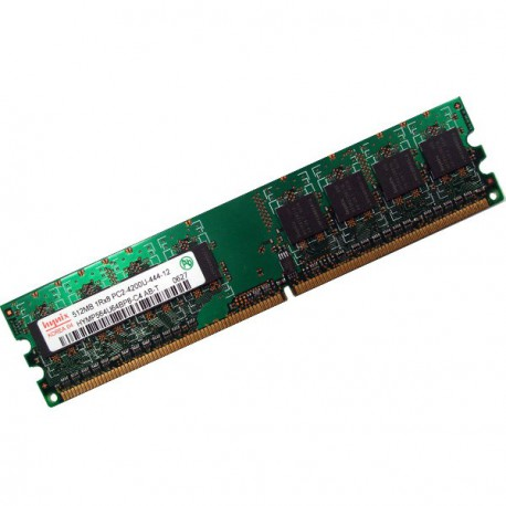 Ram Barrette Mémoire HYNIX 512Mo DDR2 PC2-4200U 533Mhz HYMP564U64BP8-C4 CL4 2Rx8