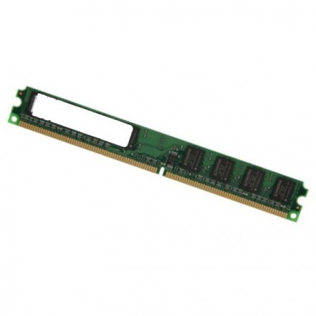 Ram Barrette Mémoire SQP 2Go DDR2 PC2-5300U 667Mhz D2/25664667MT Low Profile