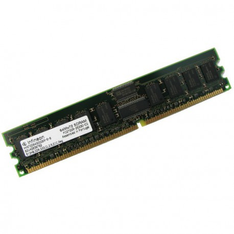 Ram Serveur INFINEON 512Mo DDR PC-2700R Registered ECC 333Mhz HYS72D64300GBR-6-B