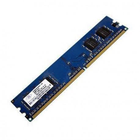 Ram Barrette Mémoire NANYA 256Mo DDR2 PC2-3200U 400Mhz NT256T64UH4A0FY-5A CL3