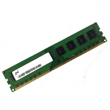 Ram Barrette Mémoire MICRON 1Go DDR3 PC3-10600U 1333MHz MT4JTF12864AZ-1G4D1 CL9