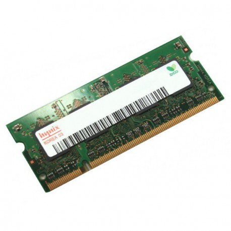 1Go RAM PC Portable SODIMM Hynix HYMP112S64CP6-Y5 AB DDR2 667Mhz PC2-5300S CL5