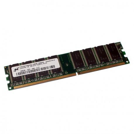 Ram Barrette Memoire MICRON MT8VDDT3264AG-335G4 256Mo DDR1 PC-2700U 333Mhz CL2.5
