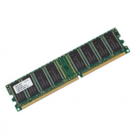 Ram Barrette Memoire HYNIX HYMD232646A8J-D43 AA-A 256Mo DDR1 PC-3200U 400Mhz CL3