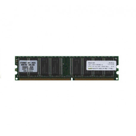 Ram Barrette Mémoire Kingston KT326667-041-MICG5 256Mo DDR PC-3200U 400MHz CL3