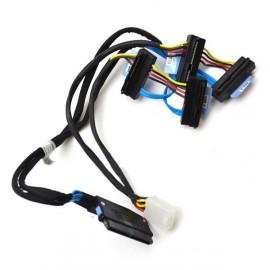 Câble Nappe Carte DELL SAS SATA 0D385M Disque dur RAID UCP-61