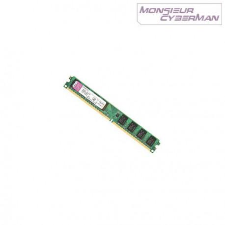 Ram Barrette Mémoire Kingston 1Go DDR2 PC2-5300 KTD-DM8400B/1G Low Profile PC