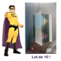Lot x10 Boites Pochette Range 56 CD DVD Pro Storage Dj Pro Boitier Classeur