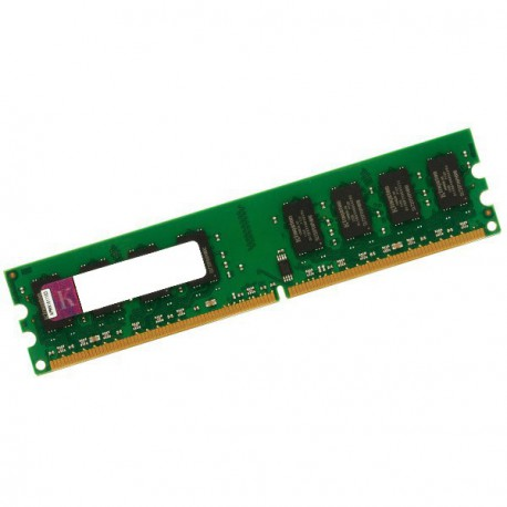 Ram Barrette Mémoire KINGSTON 1Go DDR2 PC2-4200 ECC 533Mhz KVR533D2E4K2/1G CL4