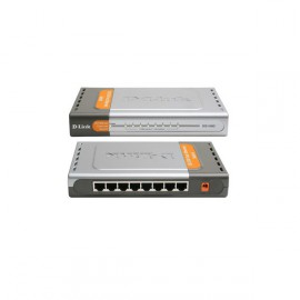 Switch D-Link 8 Ports DES-1008D Fast Ethernet Commutateur 10/100 Mbps Gris
