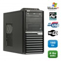 PC ACER Veriton M421G Tour Athlon X2 4850B 2.5Ghz 4Go 160Go WIFI Graveur XP Pro