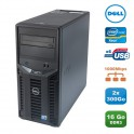 Serveur DELL PowerEdge T110 II Xeon Quad Core E3-1220 3.1Ghz 16Go 2x300Go SAS