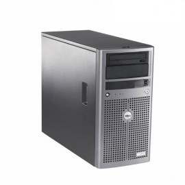 Serveur DELL PowerEdge 840 Intel Dual Core 1.8GHz 2Go DDR2 ECC 4x 73Go SAS DAT
