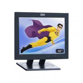 "Ecran PC 15"" IBM ThinkVision 6636-HB1 LCD TFT VGA 1024x768 (XGA) Mat Inclinable"