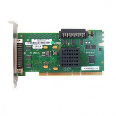 Carte SCSI LSI Logic LSI21320-IS PCI-X Ultra320 SCSI RAID DELL 03X344