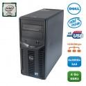 Serveur DELL PowerEdge T110II Xeon Quad Core E3-1220V2 3.1Ghz 4Go 4x300Go SAS