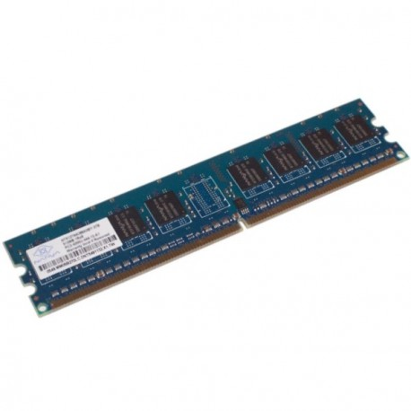 Ram Barrette Memoire NANYA 512Mo DDR2 PC2-4200U 533Mhz 1Rx8 NT512T64U88A0BY-37B