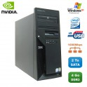 PC IBM IntelliStation M Pro 9229 E6600 2,4Ghz 4Go 2To DVD Quadro Fx1500 WIFI XP