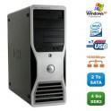 Workstation DELL Precision 390 Core2Duo E6300 4Go 2To Nvidia Quadro FX3500 XP