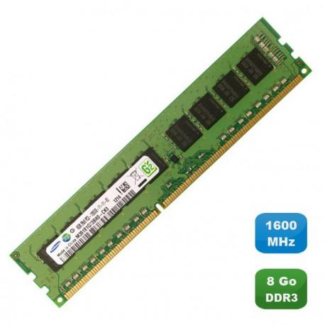 Ram Mémoire Serveur SAMSUNG 8Go DDR3 PC3-12800E 1600Mhz M391B1G73BH0-CK0 2Rx8