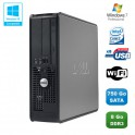 PC DELL Optiplex 780 Sff Core 2 Duo E7500 2,93Ghz 8Go DDR3 750Go WIFI Win 7 Pro