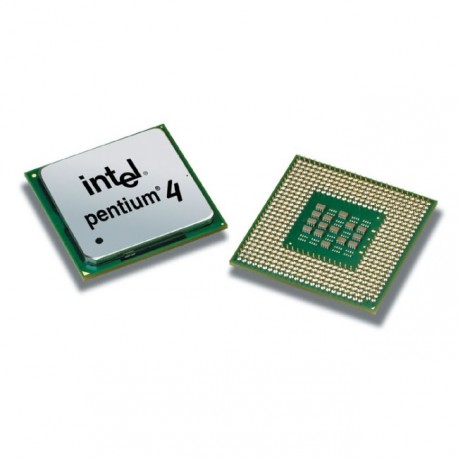 Processeur CPU Intel Pentium 4 2Ghz 512Ko 400Mhz Socket PPGA 478 SL66R Pc Bureau