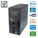 Serveur DELL PowerEdge T110II Xeon Quad Core E3-1220V2 3.1Ghz 8Go 2x2To SATA