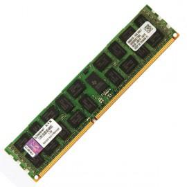 Ram Barrette Mémoire Serveur KINGSTON 8Go PC3-10600R 1333Mhz KVR1333D3D4R9S/8GHB