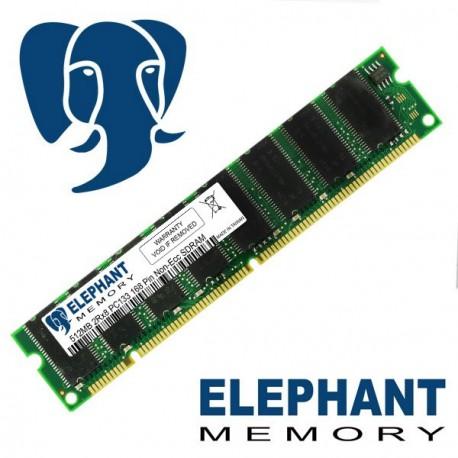 Barrette mémoire RAM 512Mo PC133 SDRAM DIMM 168-Pins Non ECC Elephant Memory