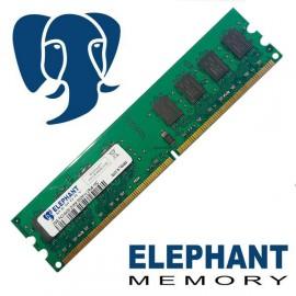 Barrette mémoire RAM 2Go PC2-6400 DDR2 DIMM 800Mhz 2Rx8 16C Elephant Memory