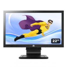 """Ecran PC 22"""" HP LA2206XC LED Full HD VGA DVI Display VESA Webcam USB Widescreen"""